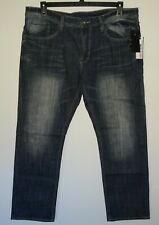 Buffalo David Bitton Jeans 36x30 EVAN-X Basic Slim Straight Stretch Dark/Med NWT