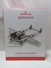 2015 Hallmark Keepsake Ornament Lockheed P-38 Lightning B17