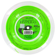 Solinco Hyper-G 16L / 1.25mm Tennis String 200m Reel - Green