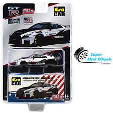 ERA Car 1:64 - 2020 Nissan GT-R R35 Nismo Yokohama (White) Mijo Exclusives
