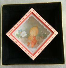 Vintage Betsey Clark'S Christmas Hallmark Square Shadowbox Ornament 1980 Diorama