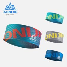AONIJIE Wide Sports Headband Sweatband Hair Band Tie for Women Men Workout Gym