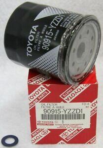 Genuine Toyota Oil Filter W/Drain Plug Gasket 90915-YZZD1