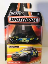 "MATCHBOX BEST OF THE WORLD SERIES 2 2017 ""A"" CASE BMW M5 POLICE MB966 NIB"