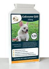 Coenzyme Q10 antioxydant pour chiens naturel Senior Chien Supplément Soutien imm...
