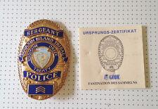 Squaxin Island Tribal Police Sergeant   / Abzeichen, Badge Replica