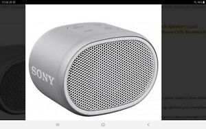 Sony SRS-XB01 Compact Portable Water Resistant Wireless Bluetooth Speaker Grey