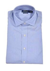Polo Ralph Lauren Blue Easy Care Dress Shirt New