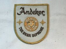 Vintage Beer Patch - ANDEKER - Pabst Brewing Co. - The Beer Supreme - P87