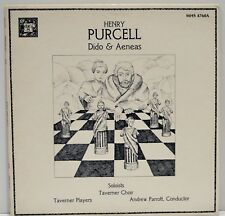 """Henry Purcell """"Dido & Aeneas"""" MHS-4760 Excellent Vinyl LP"""