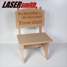 Child's Time Out, Naughty Step Seat or Chair - Personalised or Plain