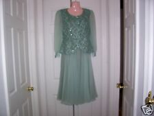 VINTAGE SAKS FIFTH AVENUE TWO PIECE COCKTAIL DRESS SIZE 6