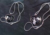 Handprint / Footprint With Photo Engraved Personalised  Necklace