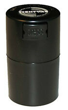 .06 Liter Tightvac Pocketvac Air & Smell Proof Vacuum Sealed Container Black