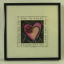 BRIGHT STAR DESIGNS Blessed are the Pure in Heart SHADOW BOX by Michelle Samara