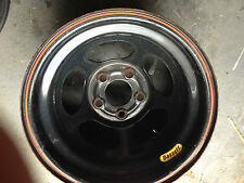"BASSETT INERTIA RACING WHEEL BLACK 15X10 4.5""BS 5ON5 BOLT (1 Wheel) IMCA AERO"