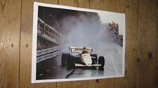 Ayrton Senna Toleman Monaco 1984 Great POSTER