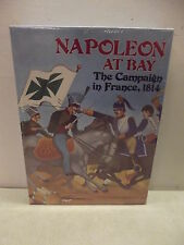 VINTAGE AVALON HILL BOOKCASE WAR GAME NAPOLEON AT BAY NEW SEALED