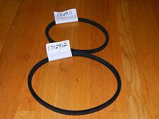 Bolens  Ride-a-Matic drive belt set  1712911      1712912        FREE SHIPPING!!