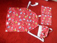 Children's apron, napkin and hat,  set