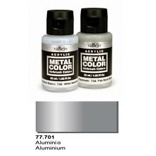 Vallejo Paints And Accessories  Metal Color VLJ-77701 Aluminum Metal Color 32ml