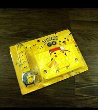 Pokemon  Children's Watch Wallet Set For Kids Boys Girls Christmas Gift