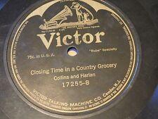 Collins & Harlan / Spencer & Holt -Batwing Victor 78 - Krausmeyer / Closing Time