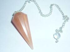 PENDOLINO CORNIOLA pietra passione pendolo cristallo wicca rabdomanzia energia