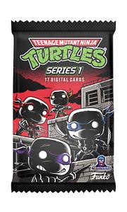 Funko Teenage Mutant Ninja Turtles NFT Premium Pack #1298 Unopened