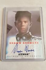 X-MEN 2 (2003) X2 MOVIE AUTOGRAPH AUTO CARD - SHAWN ASHMORE AS ICEMAN BY TOPPS