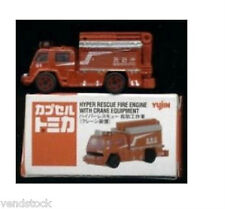 MINI FIRE TRUCK 2007 HYPER RESCUE FIRE ENGINE W CRANE COMES IN A BOX SERIES 13
