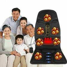 Massager Massage Chair Cushion Full Body Back & Neck Muscle Vibrating Electric!