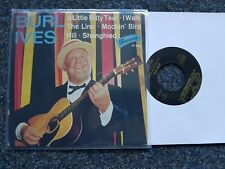Burl Ives - A little bitty tear/ I walk the line 7'' EP Single