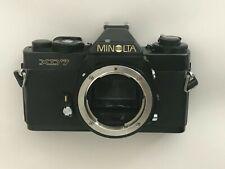 "Minolta XD7 with rare new ""MINOLTA"" logo - read!"