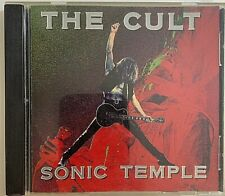 The Cult - Sonic Temple CD 1989 Beggars Banquet ‎– BBL 98 CD Hard Rock VG
