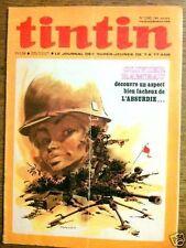 Journal de Tintin 1240 - 8/72 Dossier Le Sang
