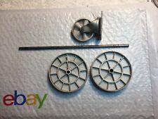 Kenmore 3.9 Powermate 116 Vintage Canister Vacuum rear wheels, swivel and axle