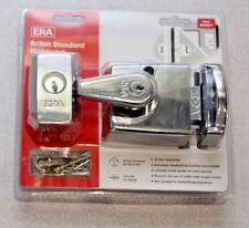 ERA 193-37-2 Double Locking Nightlatch 60mm Polished Chrome Body and Cylinder