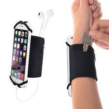 Sport Phone Wristband Sweatband + Detachable Silicon Net for 4.5 - 6 inch