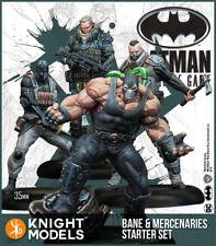 Knight Models DC Bane & Mercenaries Starter set Resin