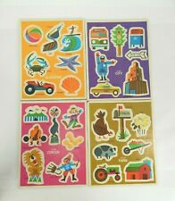 Lot of 4 Tray Puzzles by Western Publishing Co. - Preschool 1971