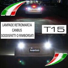 LAMPADE RETROMARCIA 18 LED T15 W16W + canceller CANBUS FIAT TIPO 6000K NO AVARIA
