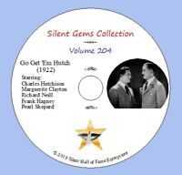 "DVD ""Go Get 'Em Hutch"" (1922) Classic Silent Action Drama"
