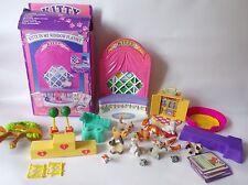 Meg figura de Kitty en mi bolsillo y accesorios Bundle-Retro Década de 1990 Toys, Cachorro