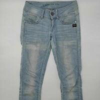 G-Star Midge Cody Skinny WMN 60537 W27 L34 blau Damen Designer Denim Jeans Hose