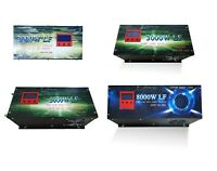 1000W 2000W 3000W 5000W 8000W 10000W Inversor Onda Pura DC a AC LCD+Cargador