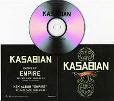 UK rock KASABIAN Japan PROMO ONLY CD acetate + promo sleeve ORIGINAL & GENUINE!