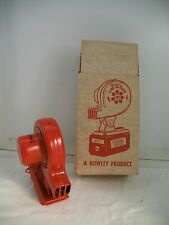 Vintage Electric FIRE BLOWER ~ use with battery to make great camp fires NOS USA