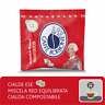 150 CIALDE CARTA ESE44 CAFFE' BORBONE MISCELA ROSSA RED ITALIANFEEL