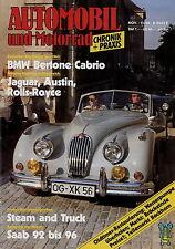 Automobil Motorrad Chronik 11 84 1984 Heinkel Mini SIATA Velocette LE BMW 3200CS